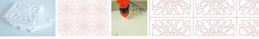 taiere laser exemplu